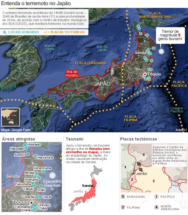 Com crise nuclear, países sugerem que seus cidadãos deixem Tóquio -