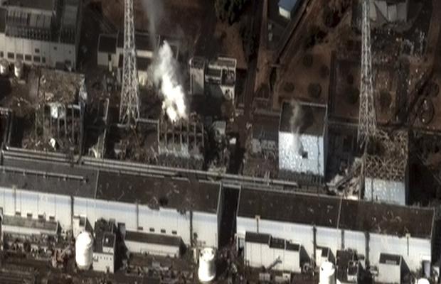 Foto de satélite feita nesta quarta-feira - Crédito: Foto: AP