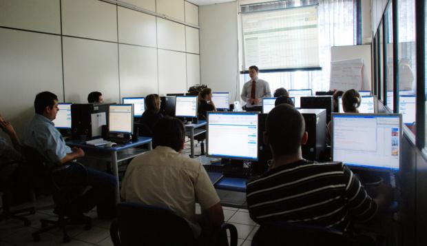 Curso de capacitação foi conduzido por Felipe Spaniol - Crédito: Foto : Divulgação