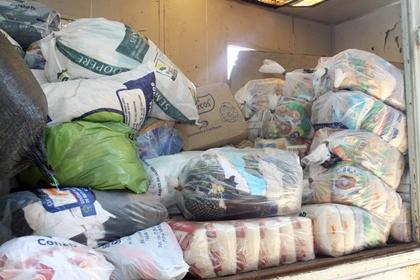 Cestas vão auxiliar os municípios com famílias desalojadas e desabrigadas - Crédito: Foto : Rachid Waqued