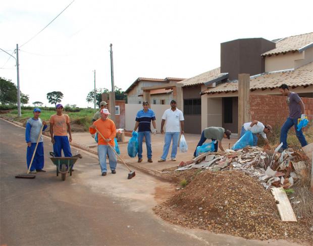 A ação é realizada pelo setor de Endemias e vetores de Jateí - Crédito: Foto : Divulgação