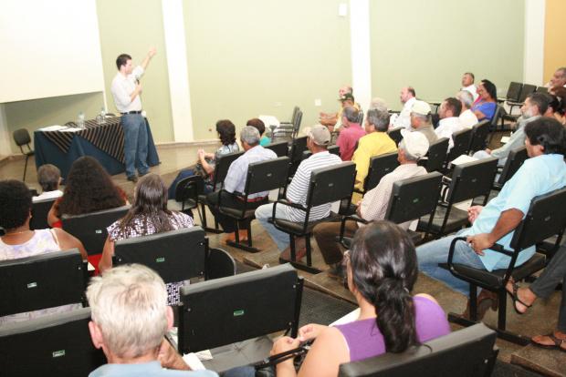 Renato Câmara destaca a importância de ações concretas em Ivinhema - Crédito: Foto: Paulo César