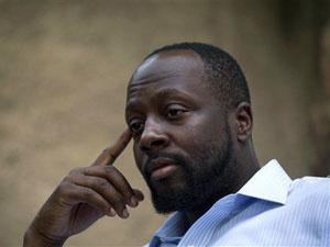O músico Wyclef Jean em entrevista em agosto de 2010 no Haiti. - Crédito: Foto: AP