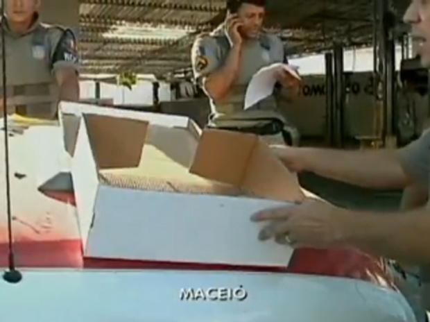 Recém-nascida é encontrada em caixa de papelão em Alagoas -