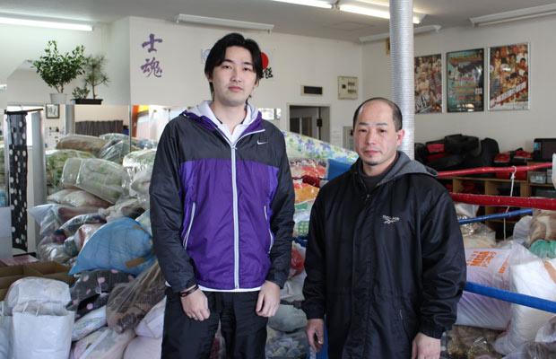 Os coordenadores em Shizuoka, Hideiti Omori e Tetsuyoshi Kodama - Crédito: Foto: Arquivo pessoal