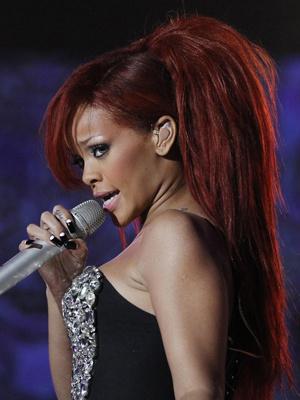 A cantora Rihanna - Crédito: Foto: Reuters