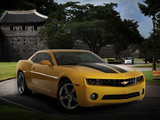 Camaro se chamará \'Kei Mai Luo\' na China - Crédito: Foto: Divugalção/GM