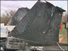 O avião teria sofrido pane mecânica e não enfrentou forças inimigas -