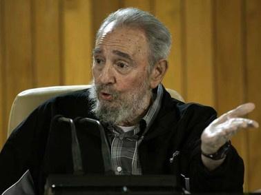 O líder cubano Fidel Castro - Crédito: Foto: AP Photo
