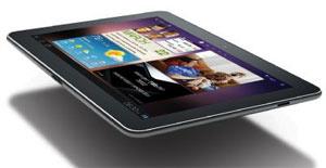 Samsung Galaxy Tab com tela de 8.9 polegadas, anunciado na terça-feira - Crédito: Foto: Divulgação