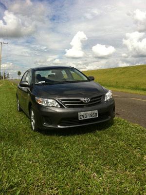 Corolla ganha atualização e reajuste de preços  - Crédito: Foto: Priscila Dal Poggetto/G1
