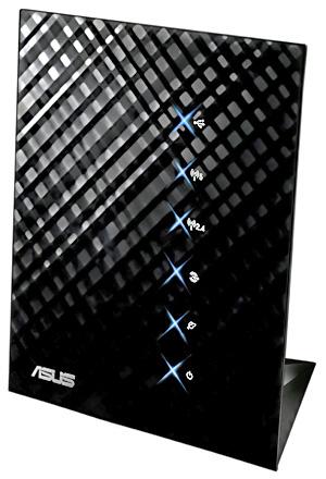 Roteador Wi-Fi modelo Black Diamond RT-N56U  - Crédito: Foto: Divulgação