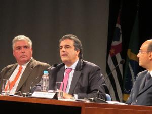 José Eduardo Cardozo fala em evento em São Paulo sobre segurança - Crédito: Foto: Tahiane Stochero/G1