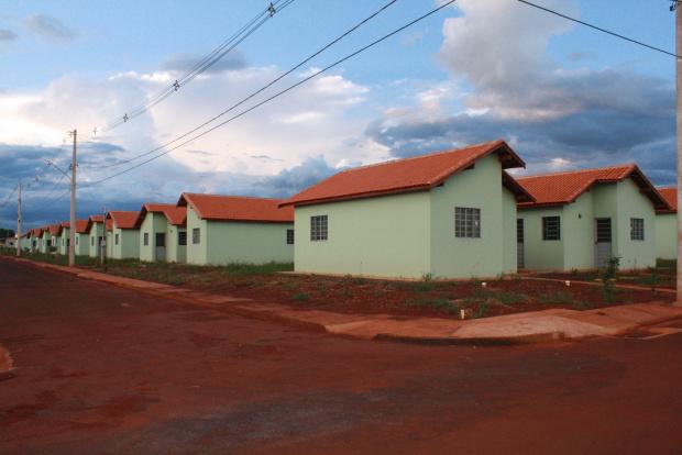 Casas construídas com recursos federais através do PAR então prontas morar - Crédito: Foto:  Hédio Fazan/PROGRESSO