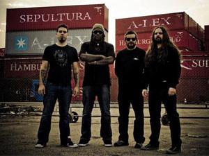 A banda Sepultura - Crédito: Foto: Divulgação