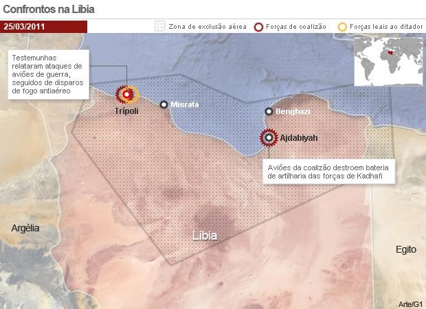 Obama vai debater operação na Líbia no Congresso dos EUA -