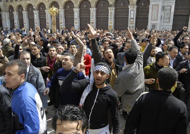 Manifestantes antigoverno protestam nesta sexta-feira - Crédito: Foto: AP