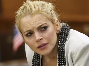 A atriz Lindsay Lohan. - Crédito: Foto: Reuters
