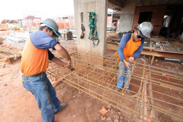 Construção civil lidera com 1.966 postos de trabalho criados de janeiro a fevereiro - Crédito: Foto: Divulgação