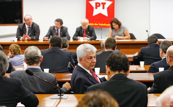 Banacada do PT em Brasilia foto: div. -