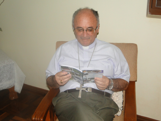 diocesano de Dourados Dom Redovino Rizzardo - Crédito: Foto: Cesar Cordeiro