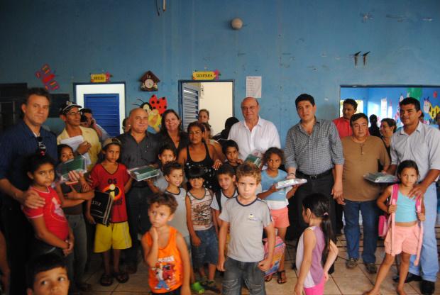 Para o prefeito Celso Vargas investir na Educação é prioridade - Crédito: Foto : Divulgação