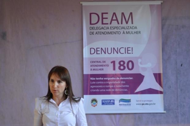 As mulheres estão denunciando mais a violência que sofrem, segundo delegada - Crédito: Foto: divulgação/PROGRESSO