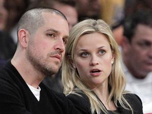 Jim Toth e Reese Witherspoon, que se casaram no final de semana. - Crédito: Foto: AP