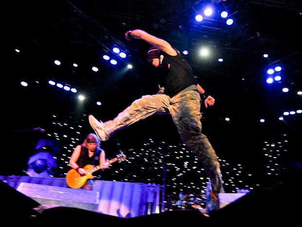 Apresentação do Iron Maiden em São Paulo faz parte da turnê The Final Frontier - Crédito: Foto: Flavio Moraes/G1