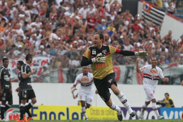 Rogério Ceni, goleiro e capitão do São Paulo - Crédito: Foto : Luiz Pires/VIPCOMM