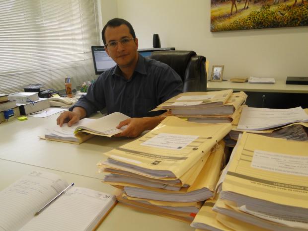 Promotor Ricardo de Melo Alves diz que o MPE poderá  suspender o evento - Crédito: Foto: Hédio Fazan/PROGRESSO