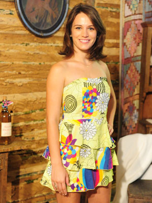 Bianca Bin durante apresentação da novela \'Cordel encantado\' - Crédito: Foto: Divulgação/TV Globo