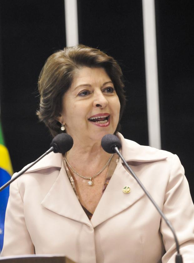 Marisa Serrano destaca a importância de Mario Covas - Crédito: Foto : Divulgação