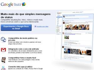 Google Buzz - Crédito: Foto: Reprodução