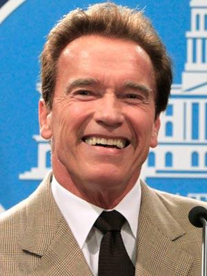Arnold Schwarzenegger vai emprestar sua voz ao super-herói The Governator - Crédito: Foto: AP