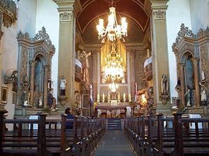 Interior da Igreja Nossa Senhora da Conceição - Crédito: Foto: Divulgação/Arquivo/Arquidiocese de Porto Alegre