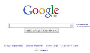 Google teria domínio no mercado de ferramentas de buscas - Crédito: Foto: Reprodução