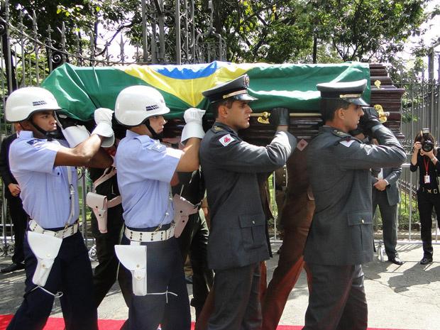 Corpo de Alencar segue para cremação em Belo Horizonte. Foto: div. -