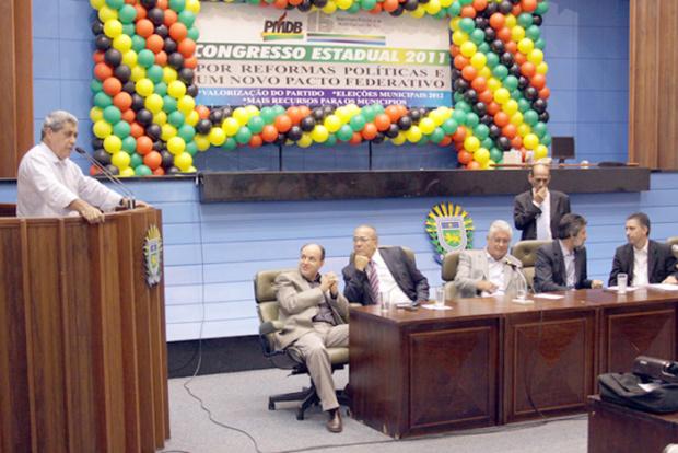 André diz que o partido continuará maior após as eleições municipais de 2012 - Crédito: Foto : PMDB