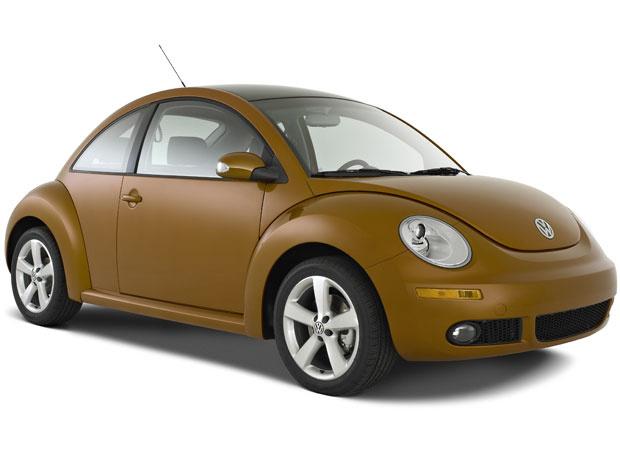 Versão 2010 do New Beetle, modelo Red Rock - Crédito: Foto: Divugalção/Volkswagen
