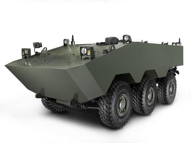 VBTP Guarani é o veículo militar que a Iveco desenvolve com o Exército Brasileiro - Crédito: Foto: Divulgação