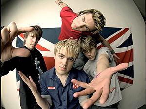 A banda inglesa McFly - Crédito: Foto: Divulgação