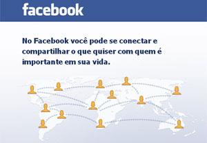 Grupo tem menos de 0,5% do Facebook  - Crédito: Foto: Reprodução