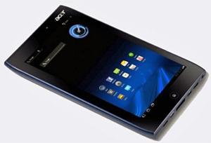 Tablet Acer Iconia A100 - Crédito: Foto: Divulgação