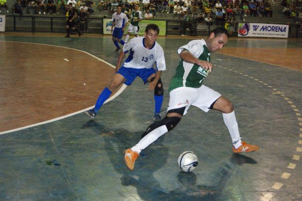 A derrota para o Pinheiros de Ribas do Rio Pardo foi bem assimilada no fator quadra - Crédito: Foto: Divulgação