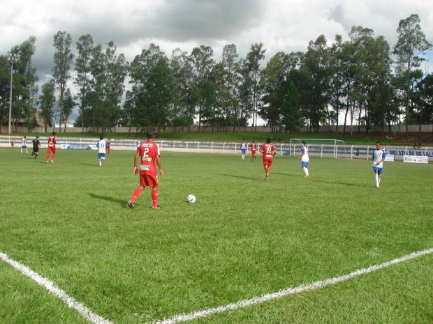 Sete venceu o Ivinhema pelo placar apertado de 1 a 0 - Crédito: Foto : Waldemar Gonçalves/Russo