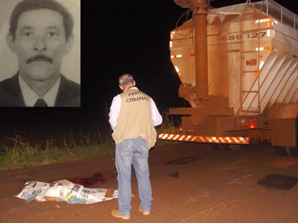 José Vicente da Silva morreu atropelado, em Fátima - Crédito: Foto: Bronka