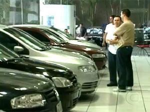 Leasing apresentou queda no saldo das carteiras  - Crédito: Foto: Reprodução/TV Globo