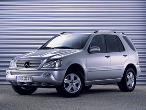 Utilitário esportivo M-Class  - Crédito: Foto: Divulgação/Mercedes-Benz