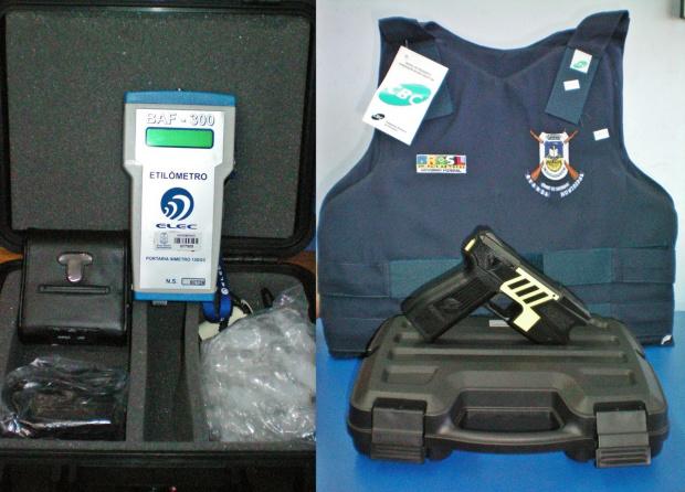 Guarda Municipal recebe novos equipamentos -